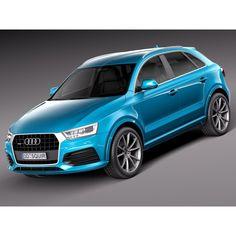 Audi Q3 2015 - 3D Model