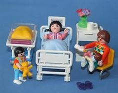 1000 images about playmobil health services on pinterest for Hospital de playmobil