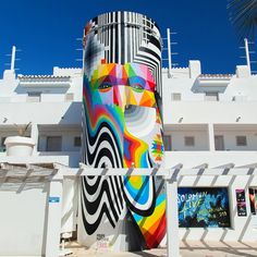 Felipe Pantone and Okuda (2016) - Ibiza (Spain)