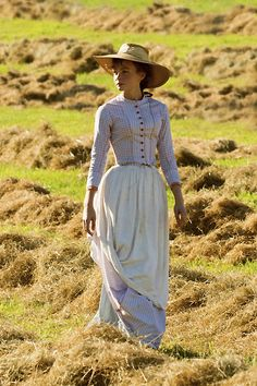 """Carey Mulligan - """"Far from the Madding Crowd"""" (2014) - Costume designer : Janet Patterson"""