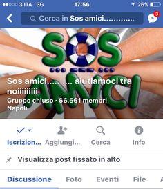 S.O.S amici…aiutiamoci tra noi conquista i napoletani e arriva a 65.000 iscritti.