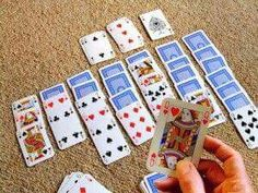 Remember playing Solitaire with real cards?