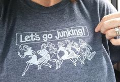 JUNKIN T-Shirt from the Country Living Fair | Little White House Blog