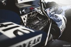 Jackie Stewart's Tyrrell 004 (by dsullivan) Automobile, Jackie Stewart, Race Engines, New Shape, F1 Racing, Car Engine, Car And Driver, Vintage Racing, Automotive Design