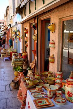 Pottery from Vallauris, Provence-Alpes-Cote-dAzur