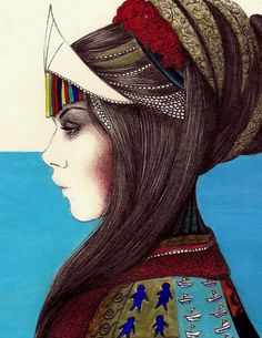 Dessin de Camila do Rosario - illustratrice brésilienne.