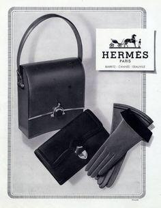 Hermès 1950 Handbag, Gloves