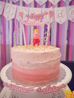 PEPPA PIG Birthday Party Ideas | Photo 2 of 38 | Catch My Party