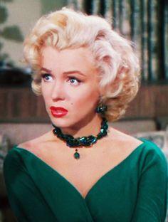 """Marilyn Monroe in """"Gentlemen Prefer Blondes"""", 1953"""