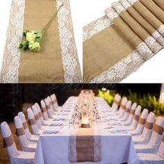 """Cheap decorated wedding stages, Buy Quality decorated wedding cookies directly from China wedding table decor Suppliers: 100Pieces Vintage  4""""x8"""" Hessian Burlap Lace Wedding Tableware Pouch Cutlery Holder Decorations FavorUSD 59.00/lotSALE-"""