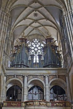 Organ, St. Vitus Cathedral, Prague