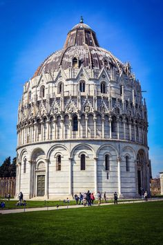 Baptisterio de Pisa (Pisa - Italy)