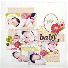 Baby Scrapbooking Idea