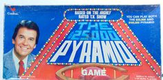 1980s, Vintage Games, Board Games, Board Game Decor, Pyramid, 25,000 Pyramid, Dick Clark, Cardinal, Vintage Board Game, Tv Show by DoorCountyVintage on Etsy