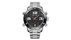 694cebfc408 6 relógios masculinos por menos de R 300