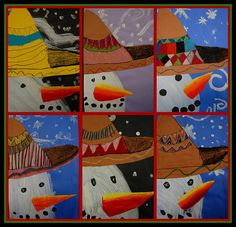 sombrero snowmen. | Flickr - Photo Sharing!