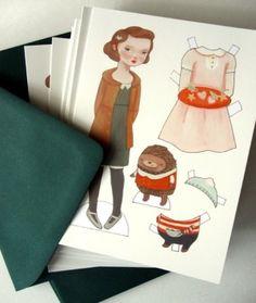 Paper doll by ritari