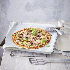 Een gezond recept voor Bloemkoolpizza verdura, klaar in 24. Maak dit gerecht of bekijk andere slanke WW (Weight Watchers) recepten. For Your Health, Vegetable Pizza, Pasta, Stuffed Peppers, Fresh, Vegetables, Breakfast, Recipes, Food