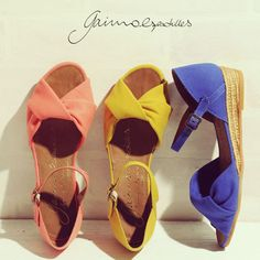 Gaim strap Sandals low heel espadrille / wedge sole / peep toe / espadrew / women / pettanko pettanko strap / MOM / /