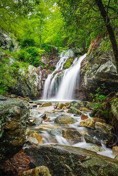 High Falls Upper, Talledega National Forest, Alabama, United States