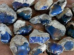 DOMINICAN BLUE AMBER