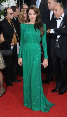 Angelina Jolie on the red carpet in Los Angeles