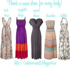 A maxi dress for every body...