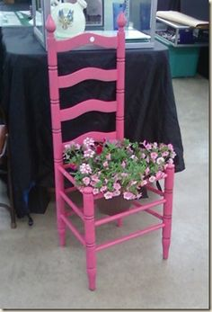 Use Homestead's free website building software to choose a design, customize it, and show the world. How To Look Pretty, Pretty In Pink, Building Software, Chair Planter, Cottage Decorating, Decorative Planters, Romantic Cottage, Flower Pots, Flowers