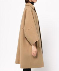 DRAWER ドルマンコート Kimono Coat, Coats For Women, Clothes For Women, Fashion Design Sketches, 1960s Fashion, Comfortable Outfits, Fashion Outfits, Womens Fashion, Lana