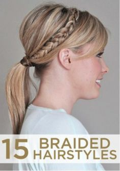A bevy of braided looks.