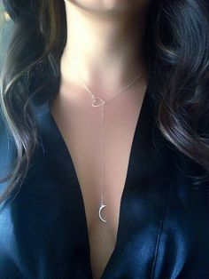 SALE I Love You To The Moon And Back Sterling by BohoGlamJewelry, $44.00