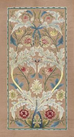 floral embroidery William Morris About the ArtistWilliam Morris was born in Walthamstow, Essex, on 24 March The son of a wealthy businessman, he enjoyed a privileged childhood Japanese Embroidery, Floral Embroidery, Embroidery Designs, Embroidery Needles, Hand Embroidery, Embroidery Books, Embroidery Supplies, Machine Embroidery, Textile Design