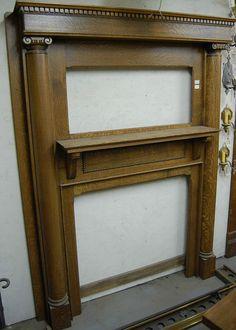 Antique Fireplace Mantels Design : Elegant and Antique Fireplace . Fake Fireplace Mantel, Fireplace Candle Holder, Fireplace Facing, Antique Fireplace Mantels, Antique Mantel, Fireplace Tiles, Fireplace Screens, Denver, Foto Blog
