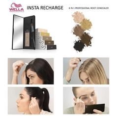 Wella Insta Recharge Cover Gray, Polaroid Film, Makeup, Maquillaje, Face Makeup, Make Up, Bronzer Makeup