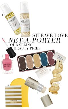 Our Spring Beauty picks from Net-A-Porter!