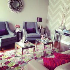 Living room set-up