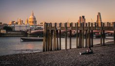Quiet end of day at #London #Thames