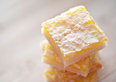 Lemon Bars...keep comin back to this recipe