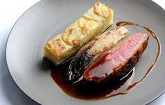 #SeasonalRecipes - Game On! Duck Breast, Chicory & Potato Dauphinoise #recipe by Josh Eggleton via Great British Chefs
