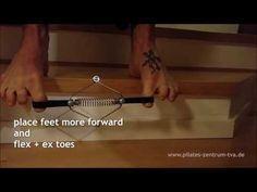 Hallux Valgus Training *** ToeGizmo+Stairs Workout - YouTube Pilates, Stairs Workout, Training, Gym, Youtube, Pop Pilates, Work Outs, Excercise, Excercise