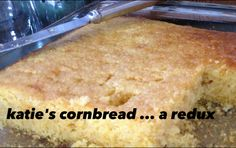 A cornbread recipe made with whole foods.