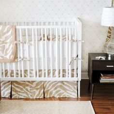 New Arrivals Crib Bedding Safari Sand @Sarah Nasafi Grayce