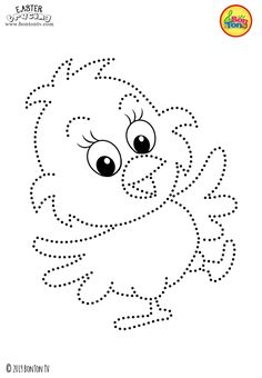 Easter Tracing and Coloring Pages for Kids - Free Preschool Printables and Worksheets, Fine Motor Skills Practice - Easter bunny, eggs, chicks and more on BonTon TV - Coloring books uskrs easter preschool tracing coloringpages coloringbooks printables Fun Worksheets For Kids, Math For Kids, Preschool Worksheets, Preschool Activities, Preschool Printables, Easter Printables, Preschool Writing, Numbers Preschool, Free Preschool