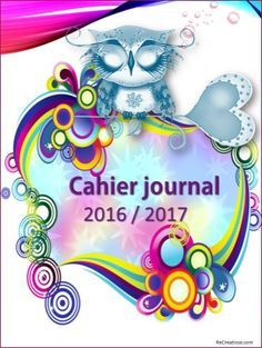 CAHIER JOURNAL ENSEIGNANT 2016/2017