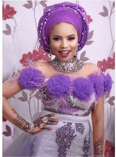 Drop Dead Gorgeous Aso Ebi styles For Wedding Turn Ups - Wedding Digest Naija African Lace Styles, African Lace Dresses, Ankara Styles, Latest African Fashion Dresses, African Print Fashion, Ankara Fashion, Africa Fashion, Native Fashion, Fashion Prints