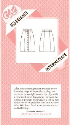 Colette Patterns Beignet Skirt