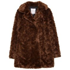 Pre-owned Zara Boho Hippie Toffee Faux Fur Jacket Nwt New S Fur Coat ($125) ❤ liked on Polyvore featuring outerwear, coats, coats & jackets, fur, brown, boho coat, brown coat, fur coat, zara coat and imitation fur coats