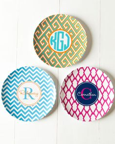 E-Certificate for Preppy Plates Set of 4 Customizable 10in Dinner Plates