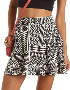 #Charlotte Russe          #Skirt                    #Tribal #Ponte #Skater #Skirt: #Charlotte #Russe    Tribal Ponte Skater Skirt: Charlotte Russe                                    http://www.seapai.com/product.aspx?PID=987217