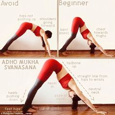 Fitness exercises 607000856010606760 - Martina Rando reveals the basic mistakes most Yoga beginners make Source by mdizerbo Yoga Fitness, Fitness Workouts, Pilates Workout, Yoga Bewegungen, Yoga Moves, Yoga Flow, Yoga Exercises, Vinyasa Yoga, Yoga Beginners